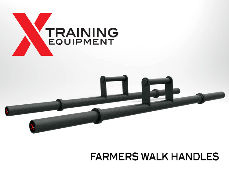 Farmers Walk Handle Barbell - Pair - Currently Out of Stock