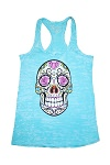 Sugar Skull Womens Tank Top - Free Shipping