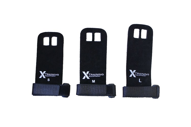 X Training Equipment® Leather Hand Grips