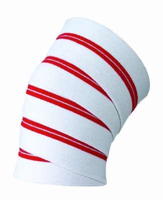 Red Line Knee Wraps