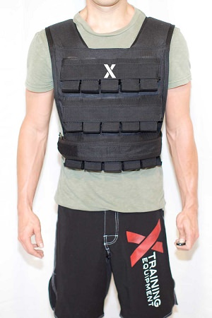 Weight Vest Adjustable Up To 30kg/66lb