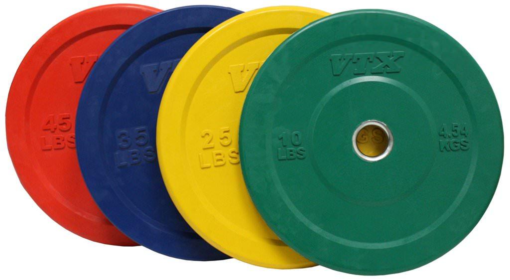 Quick View  sc 1 st  X Training Equipment & Troy VTX Color Bumper Plate 45LB Pair (Red) (90LB Set)