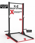 X-2 Elite Series Squat Stand with Pull-up Bar - Pre-Order Now - ETA 11/30