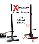 X-S Independent Squat Stands - Currently Out of Stock