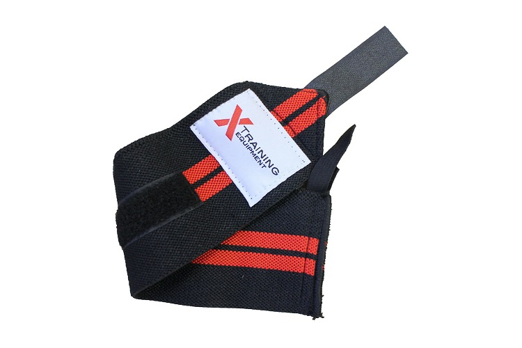 Barbell Wrist Wrap with Thumb Loop - Pair